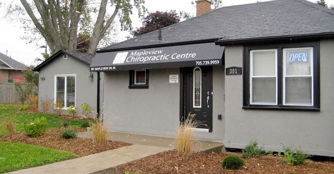 Chiropractic Office in Barrie, Ontario