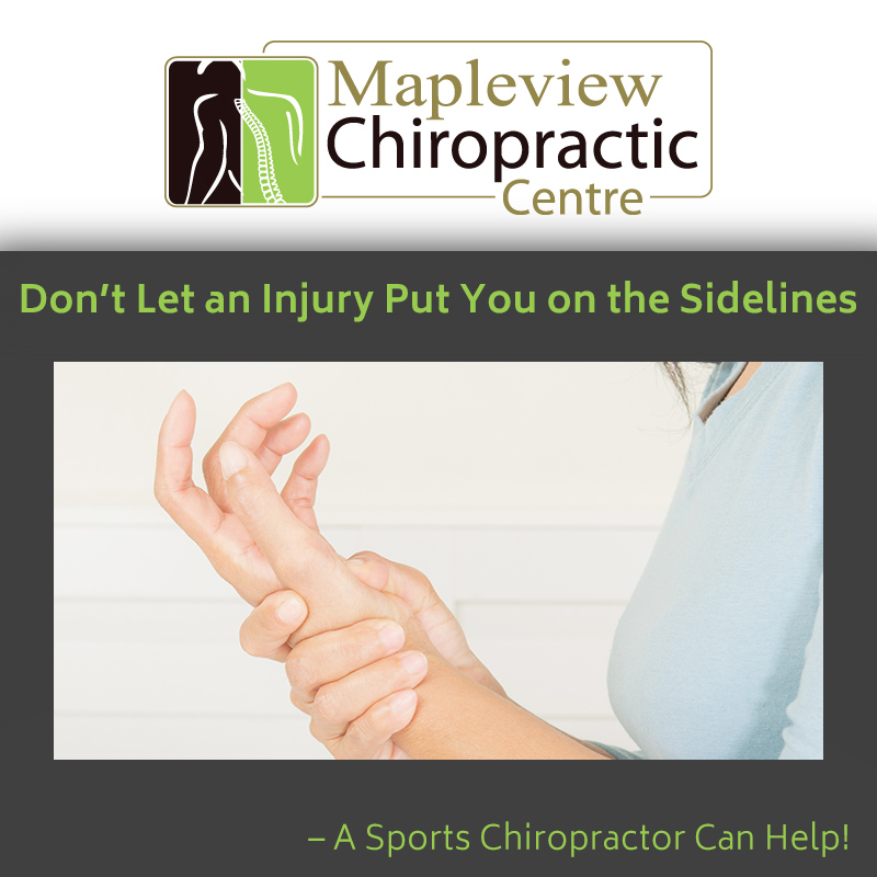 Don't Let an Injury Put You on the Sidelines – A Sports Chiropractor Can Help!