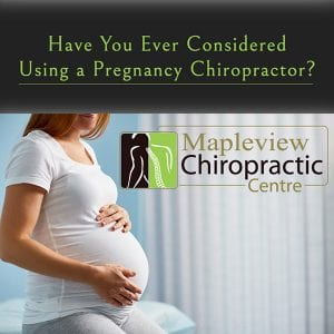 Have You Ever Considered Using a Pregnancy Chiropractor?