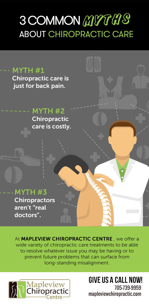 Common Myths About Chiropractic Care